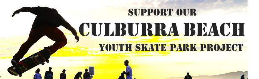 support skate park banner